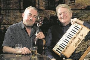 Aly Bain and Phil Cunningham will be at Pocklington Arts Centre.