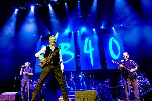 """UB40's sax player Brian Travers has been diagnosed with a brain tumour. The band's tour, including dates in Scarborough and York, will go ahead.''Travers said: """"Ive had a great life with no regrets and have absolutely nothing to add to a bucket list except getting over this and getting back to the thing I love, playing music to anyone who wants to listen and expressing myself through painting and sculpture."""""""