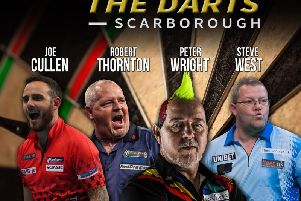 Darts night comes to Scarborough Spa