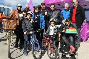 Refugees from Syria who have settled in the East Riding are being given training in cycling skills and road safety.