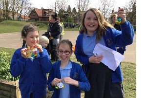 Barmby Moor Primary School pupils took part in an egg hunt and a decorated egg competition in a packed programme of Easter activities.