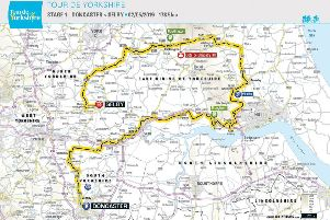 The Tour de Yorkshire will pass through the area tomorrow (Thursday, May 2).