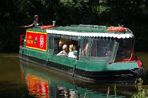 There will be boat trips during the canal open day.