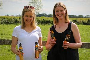 Lucy Kitson from Our B.O.Y's Fund and Jennie Palmer from Yorkshire Rapeseed Oil.
