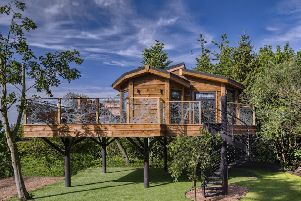 Wolds Edge Holiday Lodges, based at Bishop Wilton, has created a unique treehouse.