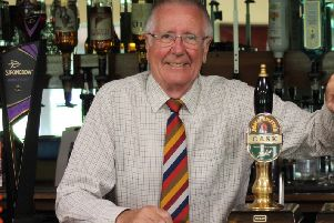 Pocklington Rugby Club bar manager Allen Clovis.