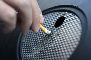 The number of smokers in the East Riding has dropped.
