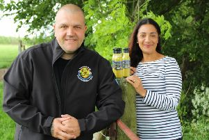 David Freer from Nice2BNice and Marcelle Tisserant from Yorkshire Rapeseed Oil