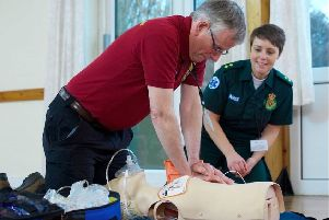 Potential Volunteer Community First Responders will receive training from the Yorkshire Ambulance Service.