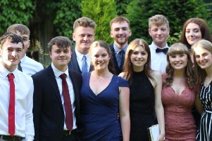 Woldgate Sixth Form College students were congratulated by headteacher Jonathan Britton.