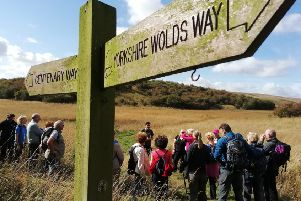A walk will be held along the Yorkshire Wolds Way from Fridaythorpe to Pluckham and back, taking in the dry valleys of the Wolds.