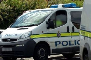 Police officers are appealing for witnesses to the collision near Sancton.
