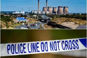 Emergency services were called to reports of potentially hazardous material at Ferrybridge last night.