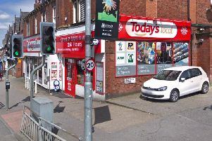 The attacked happened shortly after 2pm yesterday outside the Today's Local Convenience store on Harehills Lane.