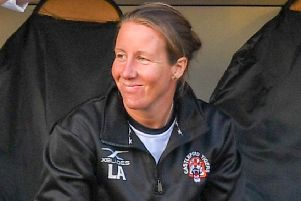 Castleford Tigers' women's coach Lindsay Anfield.