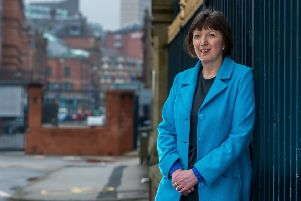 Frances O'Grady pictured in Leeds.