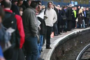 How are your train services affected by the strike action today?