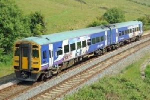 Rail services across the North West will be disrupted today by a fresh strike in the long-running dispute over guards ontrains.