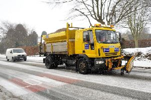 This is not a drill: gritters are on standby in Yorkshire right now
