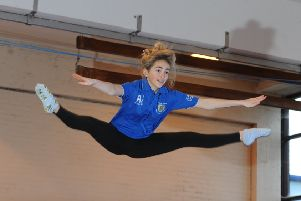 Join a trampolining club to learn new trampolining skills, ranging from the basics of landing safely to advanced moves such as somersaults.