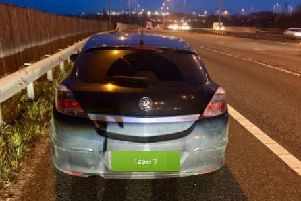 The sleepy driver's car was seized