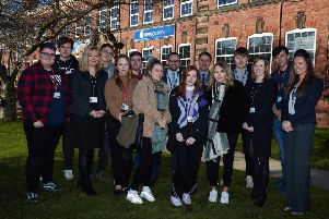 New College Pontefract topped the A level league tables when they were released last week.