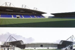 Wakefield Trinity Wildcats will have a new home after receiving notification that the Secretary of State has passed planning permission for the Newmarket Development that will include a Community Stadium. The 12,000 capacity stadium at junction 30 of the M62 is expected to be complete in time for the Wildcats to take their place as anchor tenants at the beginning on the 2015 season and will be owned by the Wakefield & District Community Trust, also providing much needed sporting facilities for the district. (W523C225)