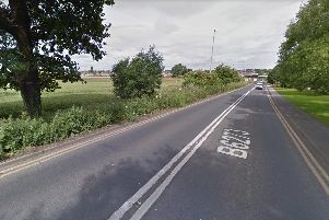 Wakefield Road, Kinsley, where the incident took place. Picture: Google.