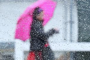 Strong winds, delays to bus and train journeys and loss of power are expected after a yellow weather warning was issued for England and Wales.