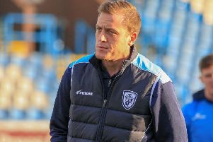 Rovers coach, Ryan Carr. PIC: Stephen Penfold