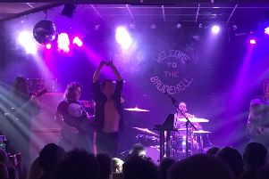 Pigs, Pigs, Pigs, Pigs, Pigs, Pigs, Pigs at Brudenell Social Club, Leeds, March 27 2019.