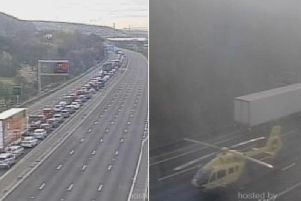 There are major problems for anyone using the M1 this morning.