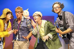 See the smash-hit production of Were Going on a Bear Hunt at the Victoria Theatre Halifax this May