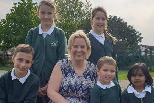 Clare Kelly is one of just eight headteachers nominated across the UK.