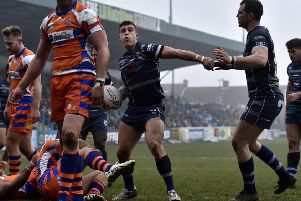 Featherstone Rovers' top try scorer, Cameron King.