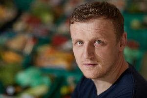 The Real Junk Food Project founder, Adam Smith.