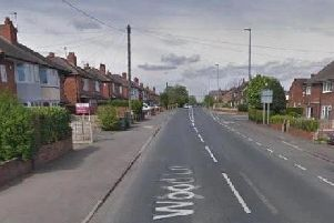 A shot was fired in Wood Lane