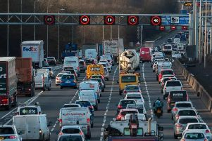 Drivers can be hit with a 100 fine and three points if they ignore this new smart motorway law.