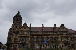 County Hall in Wakefield, in the city's civic quarter.