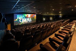 Plans: The new cinema was expected to open in May.