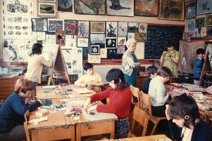 Mrs Pyrah's Classroom, 1972. Muriel Pyrah Collection. Courtesy the National Arts Education Archive, YSP