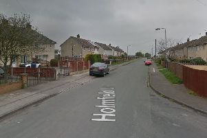 Crews attended the fire on Holmfield Lane at around12.06pm today. (Google Maps)