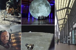 The city is to host a new festival that will eclipse all others at the Market Hall. (Moon landing photos - GettyImages)