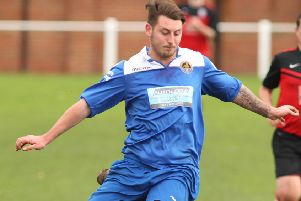Glasshoughton Welfare's Nathan Perks.