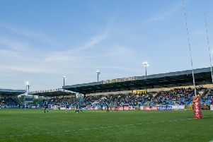 Featherstone Rovers v Hull FC - LD Nutrition Stadium, Featherstone, England - A general view of Featherstone playing Hull FC in the Ladbrokes Challenge Cup in May this year