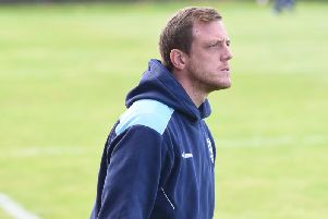 Featherstone Rovers boss Ryan Carr. PIC: Dec Hayes.