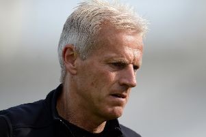 Head coach Peter Moores, who admits that Notts have endured 'a tough year' in the Specsavers County Championship. (PHOTO BY: Harry Trump/Getty Images)