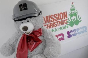 Harron Homes is again supporting this year's Hallam FM Mission Christmas appeal