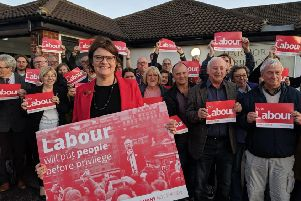 Sally Gimson has been removed as Labour's parliamentary candidate for Bassetlaw.
