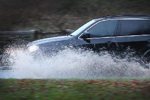 Heavy rainfall has caused flooding across South Yorkshire and Derbyshire.